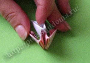 Оригами подставка для телефона