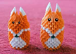 морские свинки модульное оригами