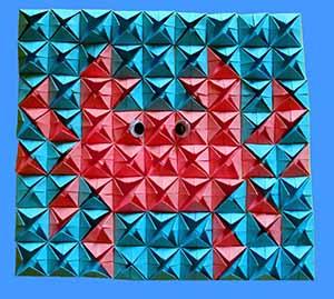 мозаика модульное оригами