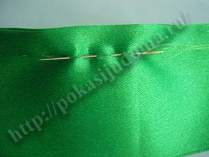 Резинка для волос из ленты